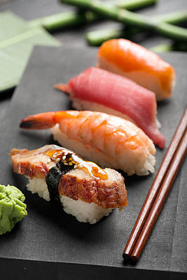 Traditional Japanese Sushi 2 Art Print by Vadim Goodwill