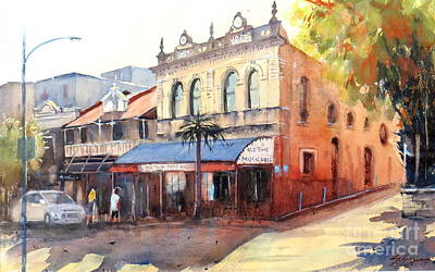 Painting - Traditional Music Hall, Brisbane by Sof Georgiou