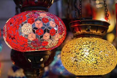 Oriental Photograph - Traditional Oriental Illumination by Iordanis Pallikaras