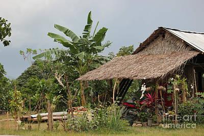 Photograph - Traditional Philippines Hut by Wilko Van de Kamp