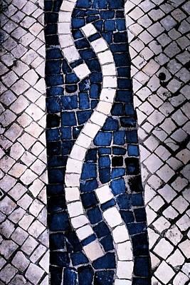Photograph - Traditional Portuguese Cobblestones 01 by Dora Hathazi Mendes