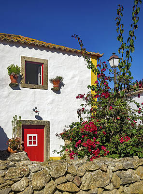 Photograph - Traditional Portuguese House by Carlos Caetano