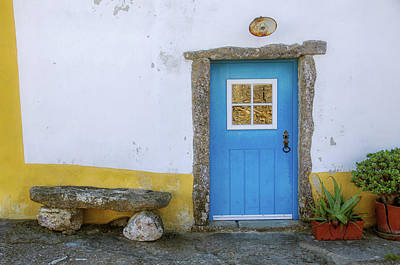 Photograph - Traditional Portuguese Rural Architecture by Carlos Caetano