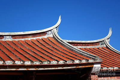 Photograph - Traditional South China Architecture by Yali Shi