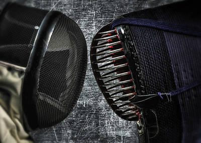 Kendo Wall Art - Photograph - Traditional Vs Modern by Hans Zimmer