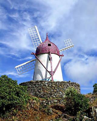 Traditional Windmill Art Print