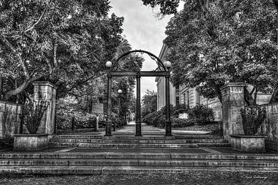 Photograph - Traditions Live On 2 The Arch Uga Athens Georgia Fall Art by Reid Callaway