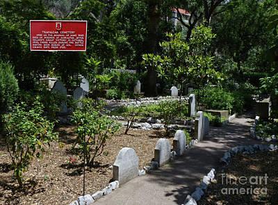 Photograph - Trafalgar Cemetery - Gibraltar by Phil Banks