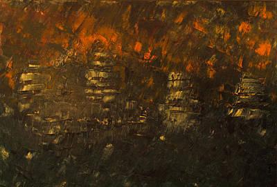 Lord Nelson Painting - Trafalgar by Sarah Jane