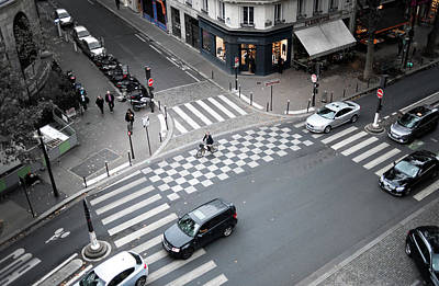 Photograph - Traffic Bars In Paris by Jean Gill