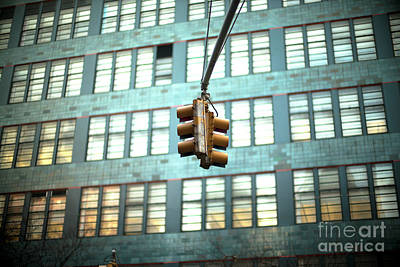 Photograph - Traffic Light by John Rizzuto