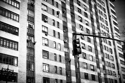 Photograph - Traffic Light On Central Park West by John Rizzuto