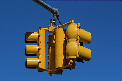 Photograph - Traffic Lights by Robert Ullmann