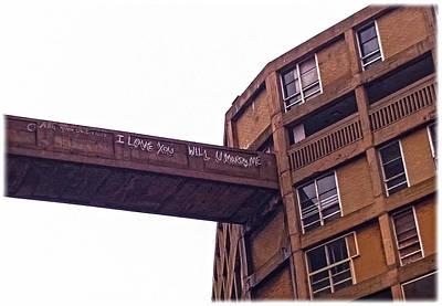 Photograph - Tragic Graffitti by Anne Kotan