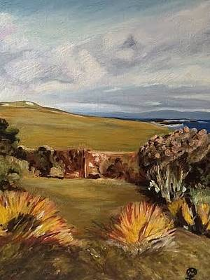 Painting - Traigh Bhan, Iona by Therese Legere