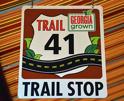 Photograph - Trail 41 Stop by David Lee Thompson