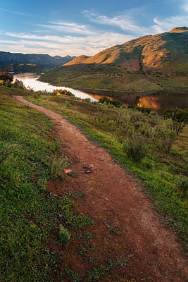 Photograph - Trail Above Lake Hodges by Alexander Kunz