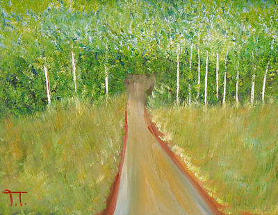 Trail At Gooseberry Original by Troy Thomas