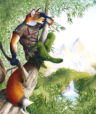 Trail Blazing Fox Original