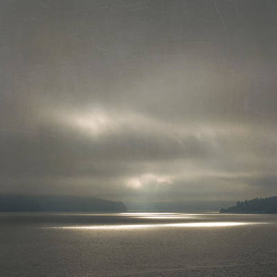 Photograph - Trail Of Light by Sally Banfill