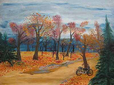 Trail Ride Original by Antonio Raul