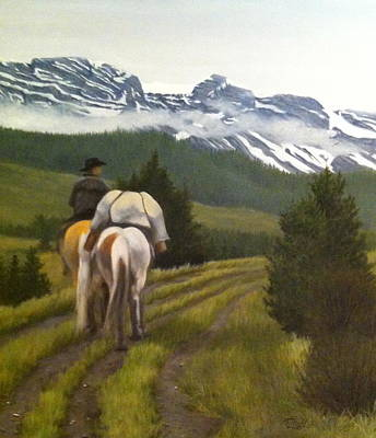 Painting - Trail Ride by Tammy  Taylor