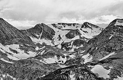 Photograph - Trail Ridge Road Study 1 by Robert Meyers-Lussier
