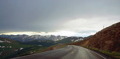 Photograph - Trail Ridge Road by Thomas Bomstad