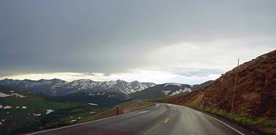 Photograph - Trail Ridge Road by Thomas Bomstad