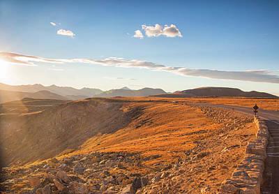 Photograph - Trail Ridge Sunset by Kunal Mehra