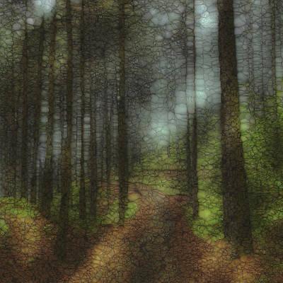 Globe Painting - Trail Series 6 by Jack Zulli