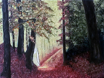 Painting - Trail by Stan Hamilton