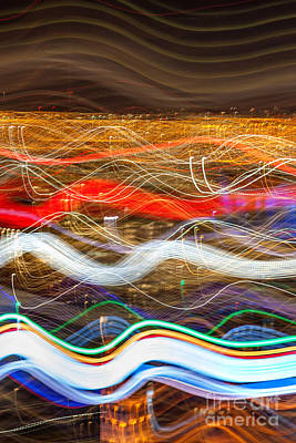 Abstract Skyline Photograph - Trailblazing by Az Jackson