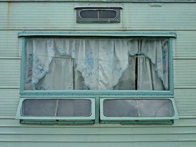 Wall Art - Photograph - Trailer Siding by Mary McGrath