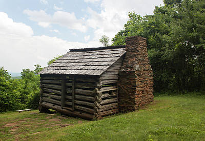 Photograph - Trails Cabin At Smart View Loop On The Blue Ridge Parlway IIi by Suzanne Gaff