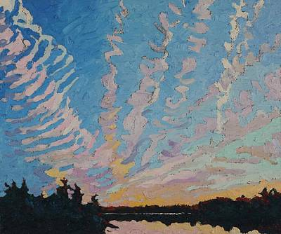Painting - Trails Past Singleton by Phil Chadwick