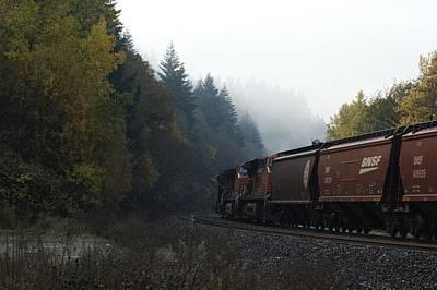 Photograph - Train 1 by Sara Stevenson