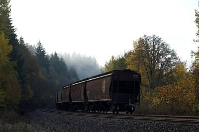 Photograph - Train 3 by Sara Stevenson