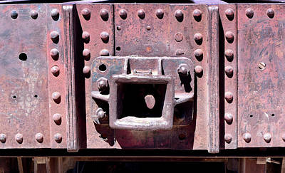Photograph - Train Abstract No. 9-1 by Sandy Taylor