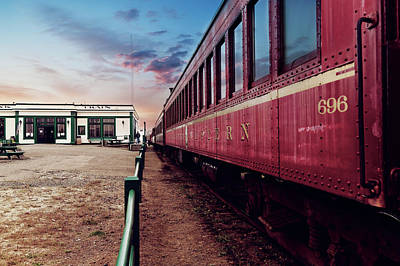 Photograph - Train At The Station by Scott Hill
