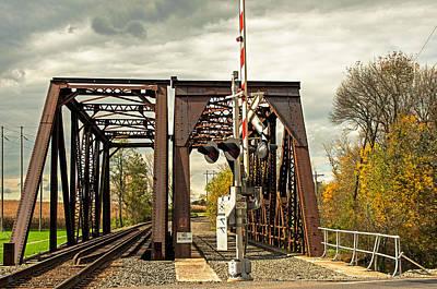 Photograph - Train Bridge by Bill Jordan