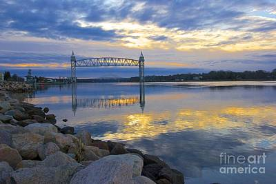 Photograph - Train Bridge Sunrise  by Amazing Jules