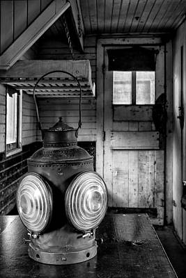 Photograph - Train Car Lantern by Denise Bush