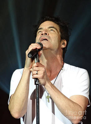 Train's Pat Monahan Art Print by Cindy Manero