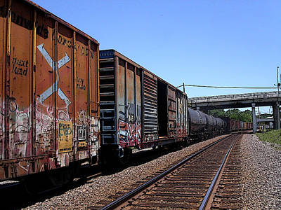 Photograph - Train Colors 1 by Anne Cameron Cutri