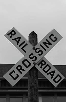 Photograph - Train Crossing by Catie Canetti
