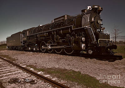 Photograph - Train Engine # 2732 by Melissa Messick