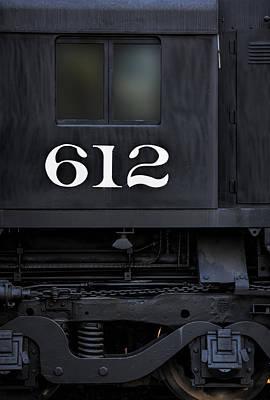 Photograph - Train Engine 612 by Steve Siri