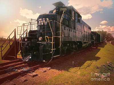 Photograph - Train Engine From Crewe Va by Melissa Messick