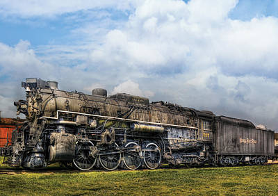 Photograph - Train - Engine - Nickel Plate Road by Mike Savad